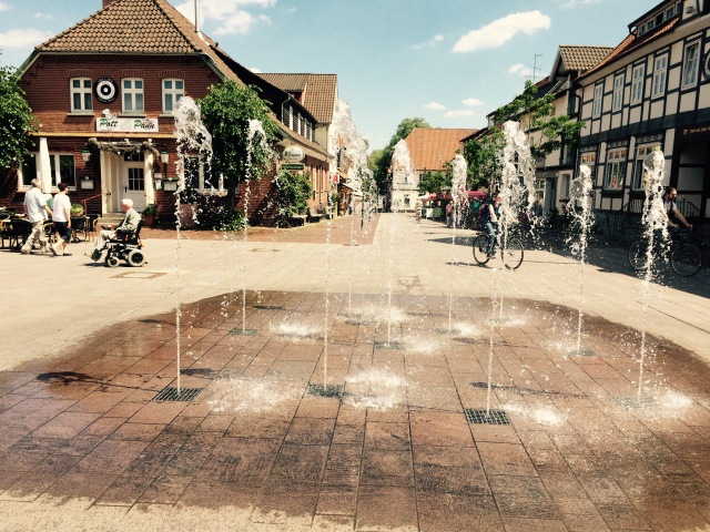 Wasserspiel in Bad Bevensen