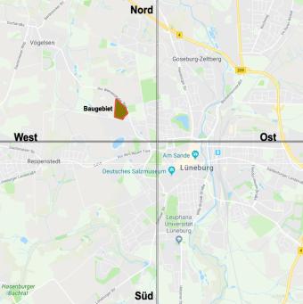 Lüneburg im Westen