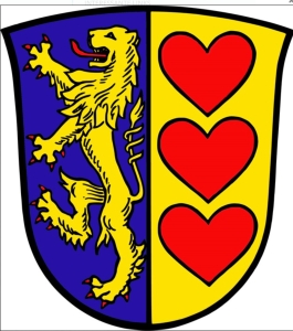 Wappen Landkreis Lüneburg. Grafik: Landkreis Lüneburg