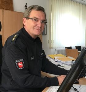 Polizeichef Hans-Jürgen Felgentreu