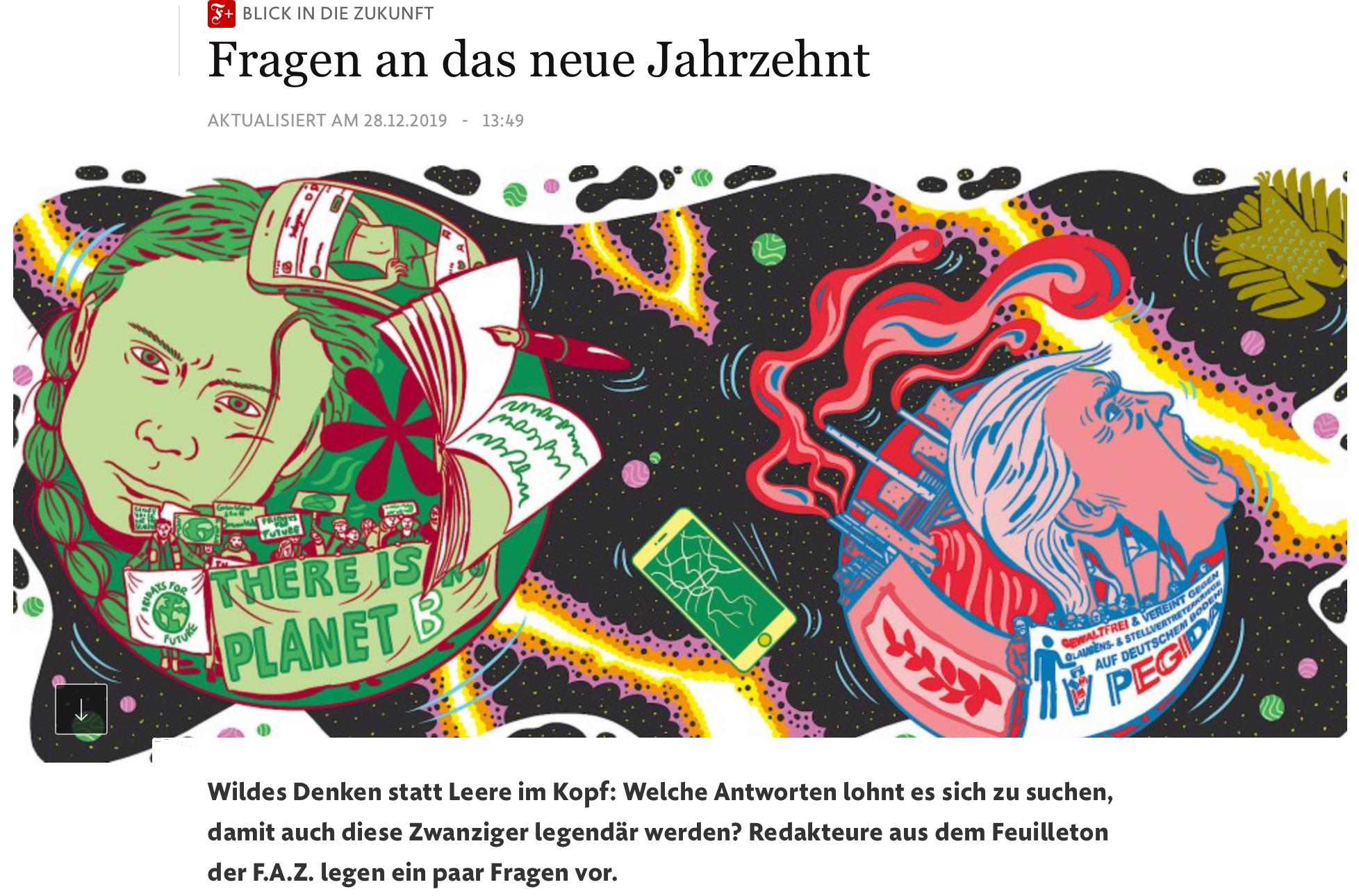 Titelbild FAZ-Artikel